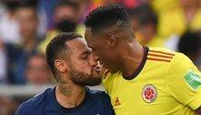 Neymar fracassa como meia. Brasil, monótono, empata em 0 a 0 com a Colômbia