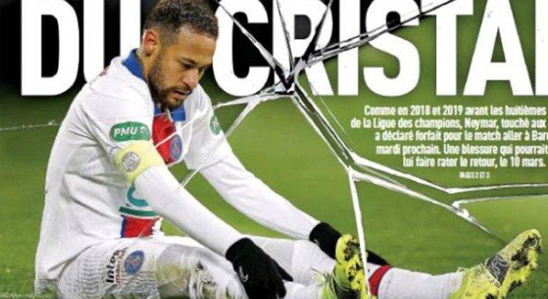 Imprensa francesa se cansou. Cobra comportamento de atleta profissional de Neymar