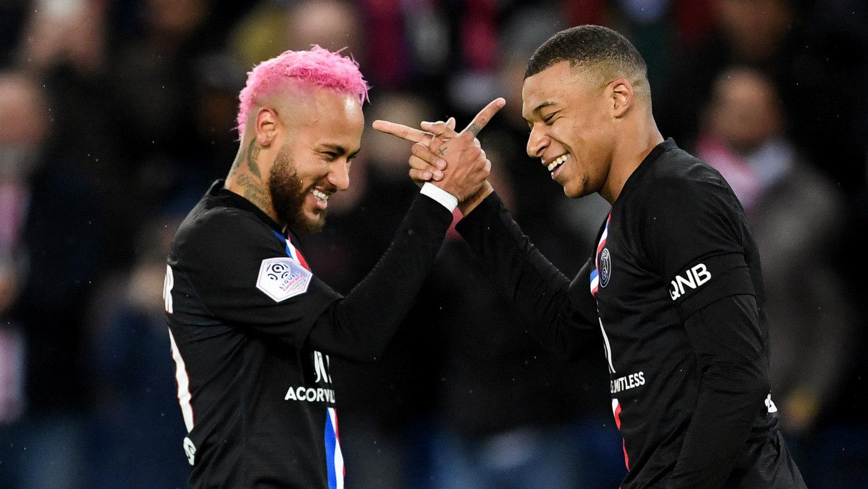 Neymar terá a fortíssima concorrência do 'fogo amigo' em 2021. Mbappé
