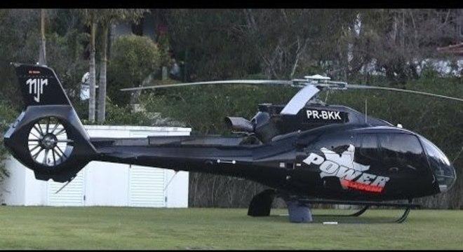 Só o helicóptero de Neymar vale 17 vezes a premiação do hexa