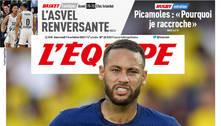 Tiro saiu pela culatra. PSG revoltado com Neymar. Exigiu a garantia que jogará até 2025