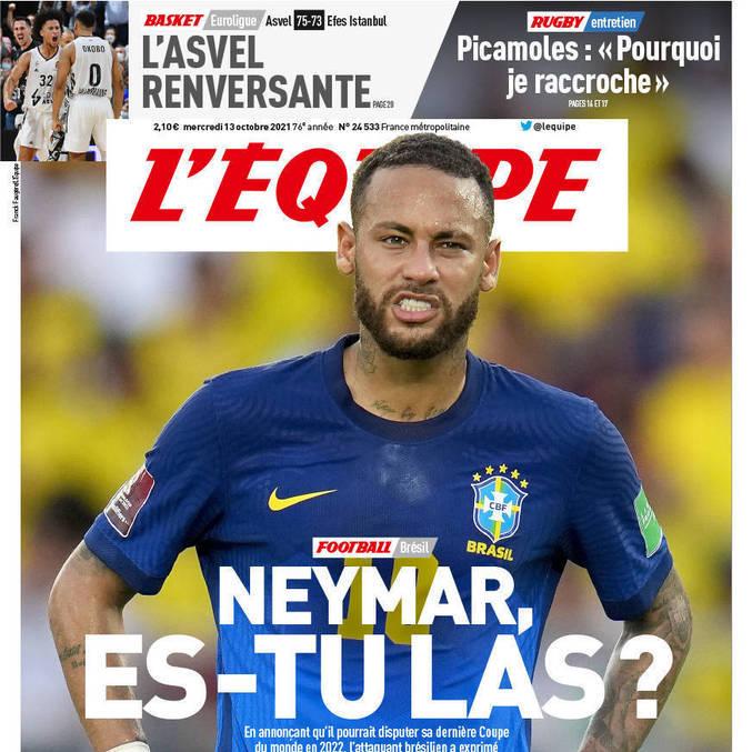 O brasileiro teve de se explicar. E garantir que cumprirá o contrato com o PSG até 2025
