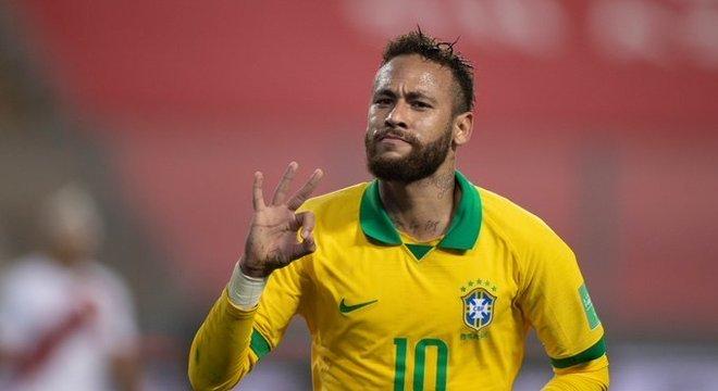 Os três gols de Neymar fizeram a minúscula TV Brasil passar Rede TV! e Band