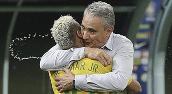 Tite sempre protegeu Neymar. E agora, o jogador curte crítica ao técnico
