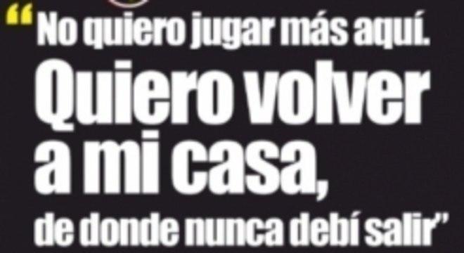 Capa do 'Mundo Deportivo' desta terça-feira