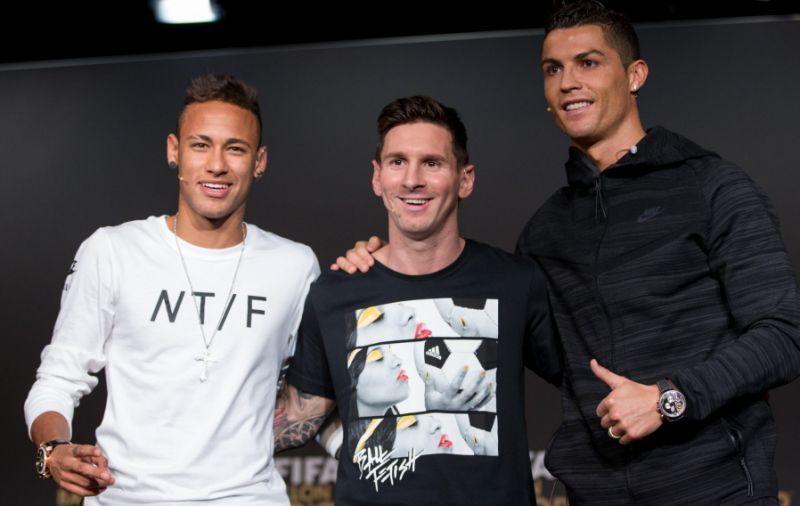 Neymar deixou Messi e Cristiano Ronaldo para trás, com novo contrato