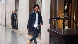 Polícia francesa tem as imagens de Neymar e Najila no hotel em Paris (Reprodução/Twitter)