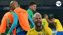 Brasil joga mal. Ganha na raça, no coração. Da Colômbia
