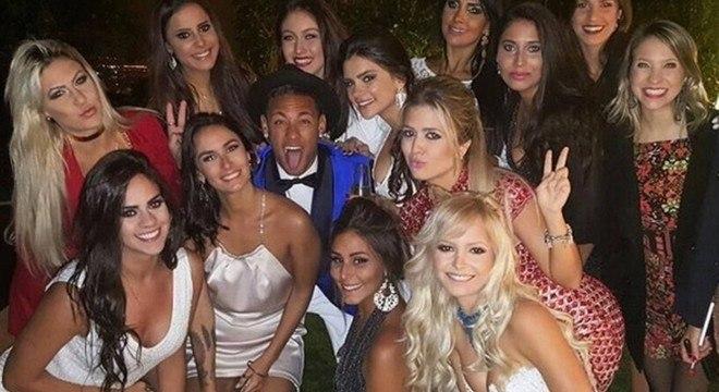 Será um sofrimento para ex-panicats, modelos e atrizes. Sem festa de Neymar