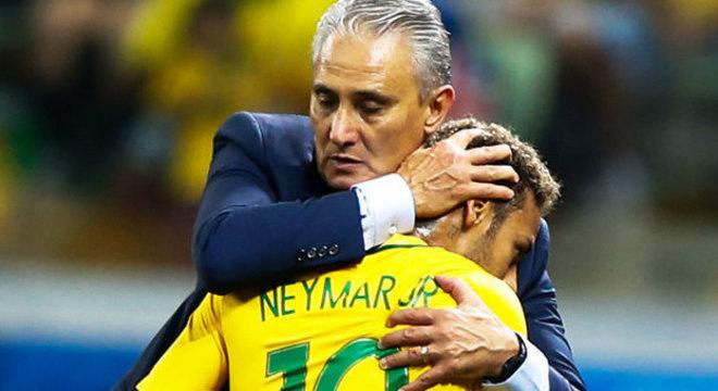 Tite sabe muito bem o quanto a atual Seleção Brasileira ainda depende de Neymar