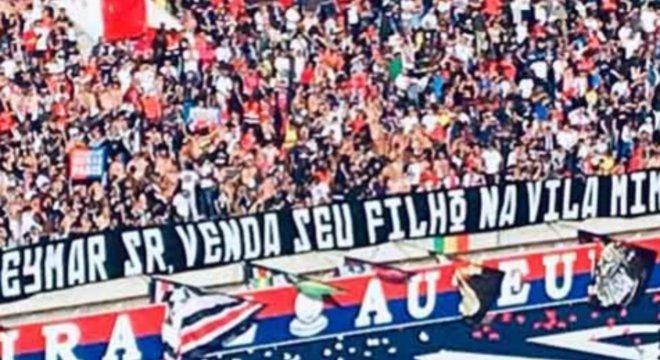 Organizada do PSG não ataca só Neymar. Mas até o seu filho