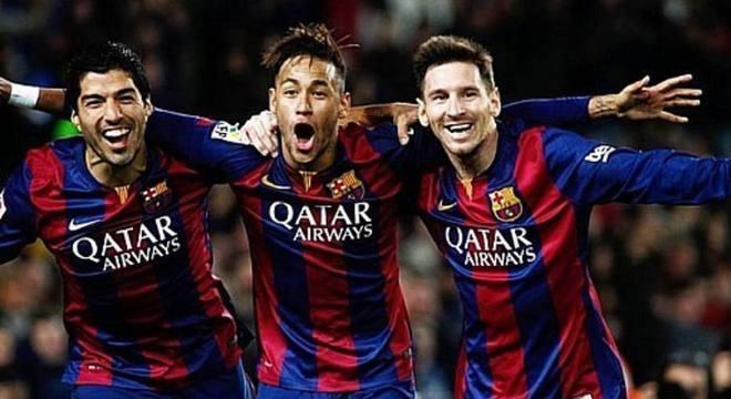 Além do ótimo futebol, Neymar destravava Messi. O fazia alegre
