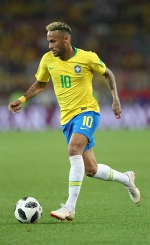 Neymar jogou pelo time