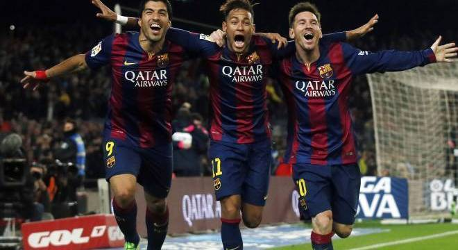 Neymar era feliz demais no Barcelona. O problema é que não avisou ao pai