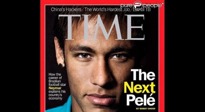 Previsão da Time em 2013. Neymar de ser a reencarnação de Pelé