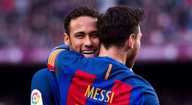 Neymar terá se ser perfeito na Champions. Para voltar ao braços de Messi