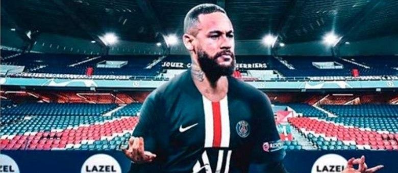Neymar atua pelo PSG, uma das principais equipes do campeonato francês