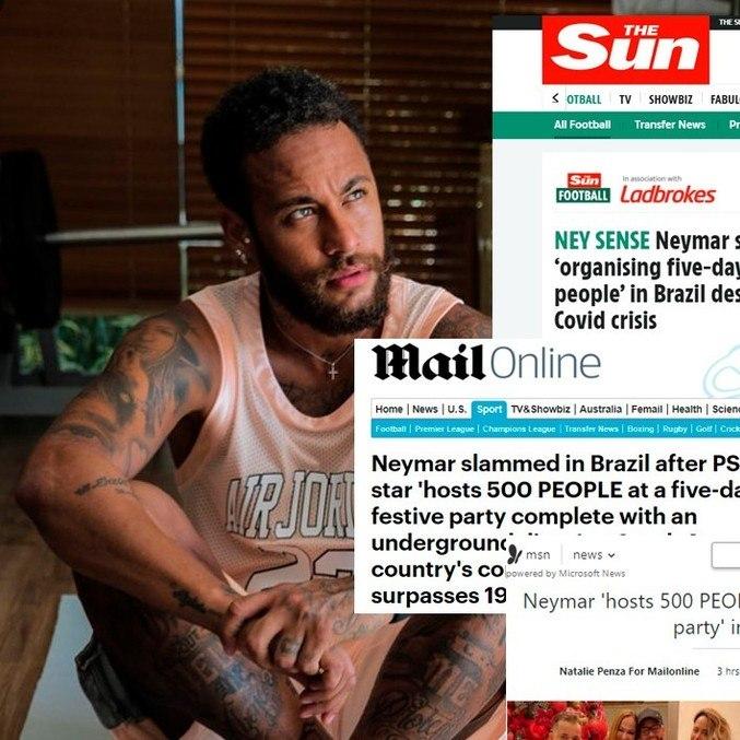 Jornais ingleses não perdoam farra em plena pandemia