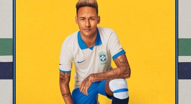 Garoto-propaganda da Copa América pela CBF. Ele não pode ficar fora