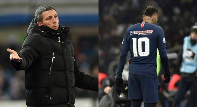 f533f1d7474d6 Treinador não poupou Neymar de críticas após jogo na Copa da França
