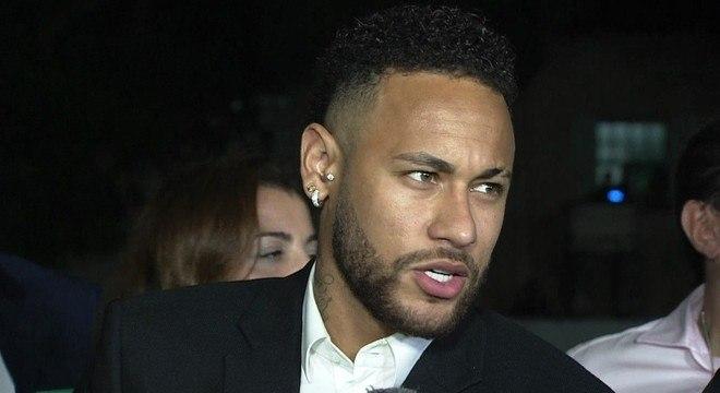 Neymar foi firme nos depoimentos. Coerente. Convenceu que não houve estupro