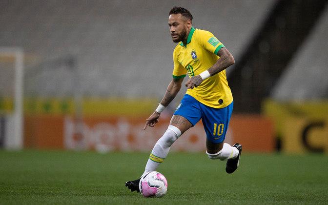 3ª colocação - Neymar- 61 gols