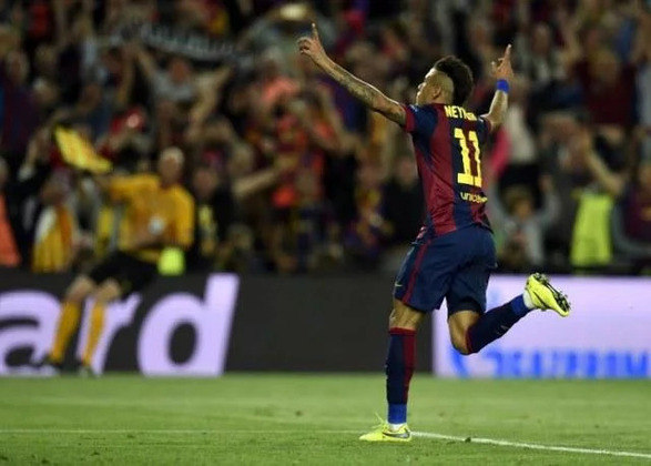 Neymar - 68 gols atuando pelo Barcelona