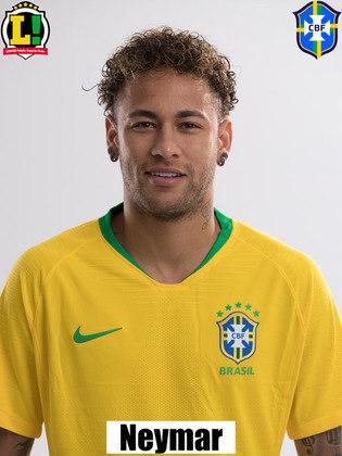 Neymar - 8,5: A partida contra o Peru ficará marcada na carreira de Neymar. Com três gols marcados, dois de pênalti, o camisa 10 ultrapassou Ronaldo Fenômeno como o segundo maior artilheiro da história da Seleção, com 64 gols. Atualmente, só Pelé está na frente de Neymar. Além da marca histórica, o craque foi peça fundamental na criação de jogadas do Brasil, se movimentando por todo o campo e liderando a equipe até a vitória.
