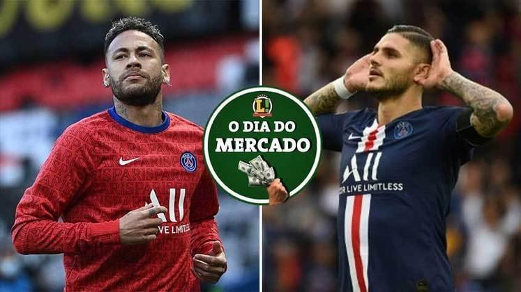 Neymar acerta a sua renovação de contrato com o PSG e ficará na França por mais tempo. Mourinho procura no mercado nomes para o ataque em caso da confirmação da saída de Dzeko ao final da temporada. Tudo isso e muito mais no Dia do Mercado.