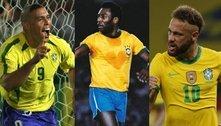 Neymar jogará última Copa aos 30? Veja idades dos craques em 'adeus'