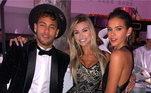 Como sempre a festa foi cheia de famosos... é que neste tinham as celebridades amigas de Bruna e de Neymar