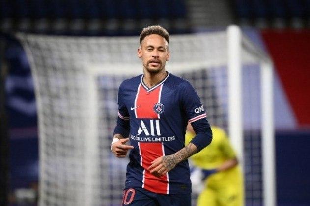 Neymar (atacante): Grande estrela brasileira até os tempos atuais, é o grande destaque do PSG desde que chegou em Paris e segue sendo a principal peça da Seleção Brasileira.