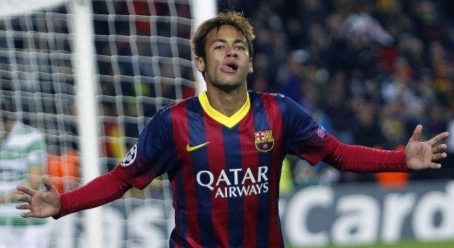 Neymar jogou quatro anos no Barcelona e fez 105 gols