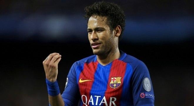 Neymar jogou no Barcelona de 2013 até 2017