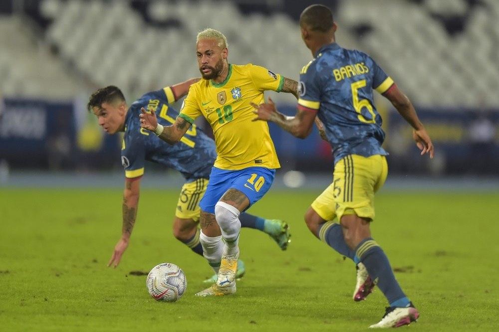 A Seleção Brasileira enfrentou a Colômbia. E também o Equador na Copa América