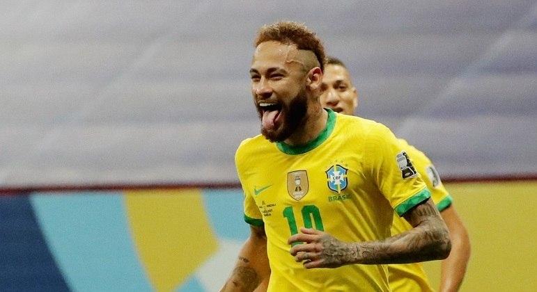 Neymar foi o craque da partida contra a Venezuela, na estreia da seleção na Copa América