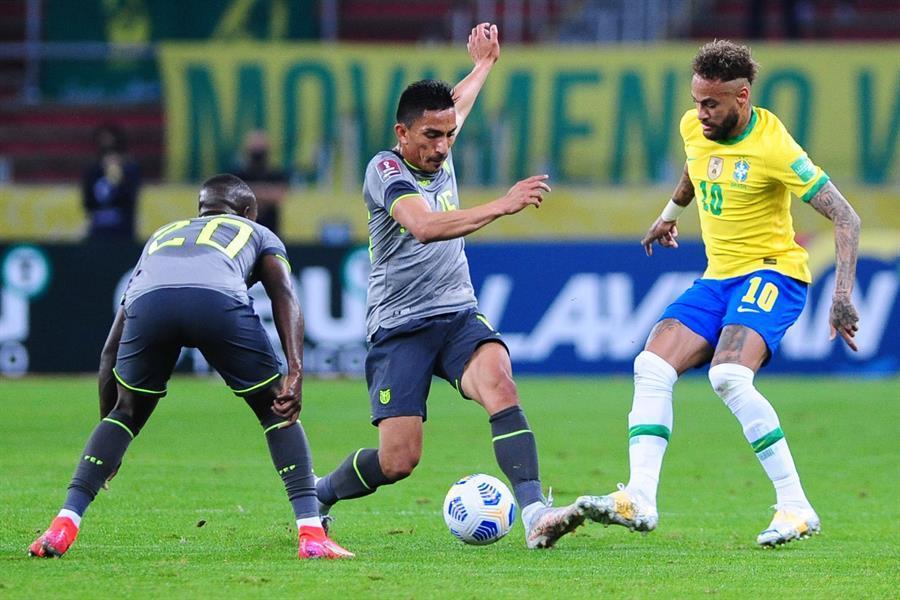 Brasil Vence O Equador E Mantem Os 100 Nas Eliminatorias Da Copa Esportes R7 Futebol