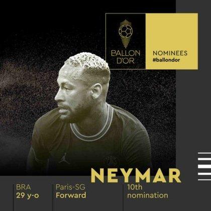 Neymar (brasileiro) - atacante - Paris Saint-Germain
