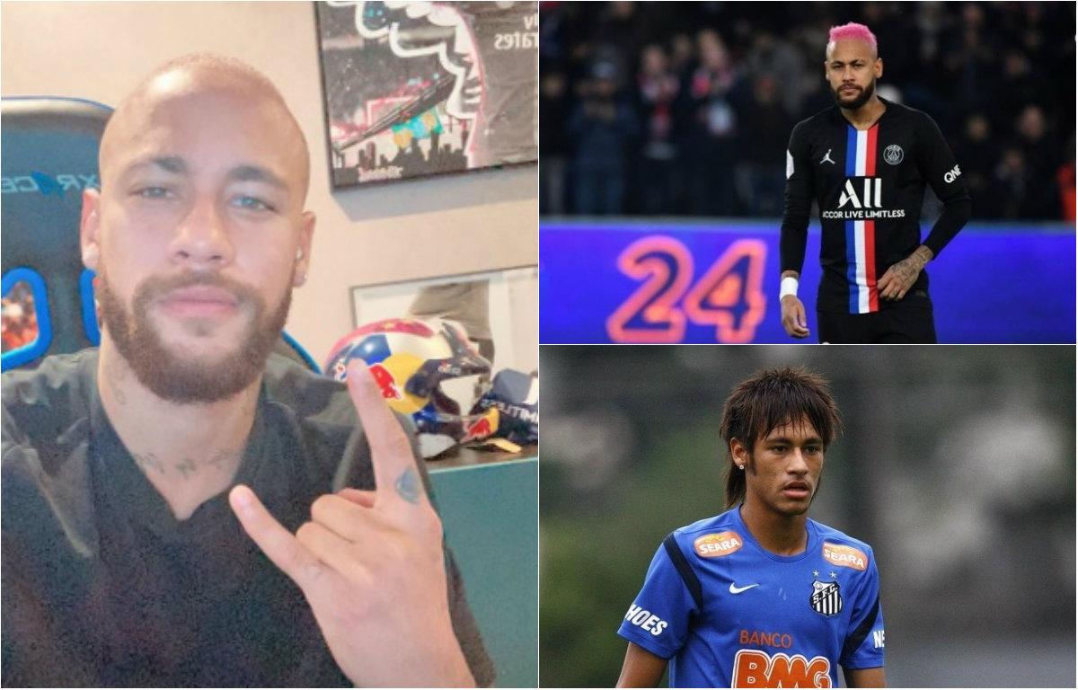 Resultado de imagem para Neymar 'Bonde dos carecas'