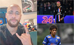 Neymar, cabelos