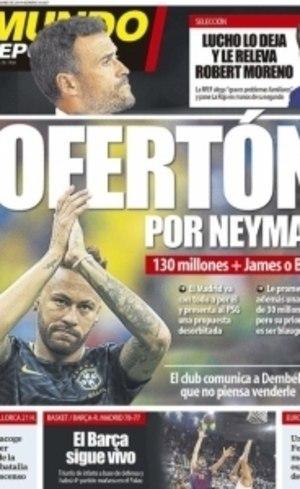 Neymar ilustra capa na quinta