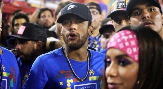Neymar, Anitta e Gabriel Medina causaram no Carnaval do Rio em 2019