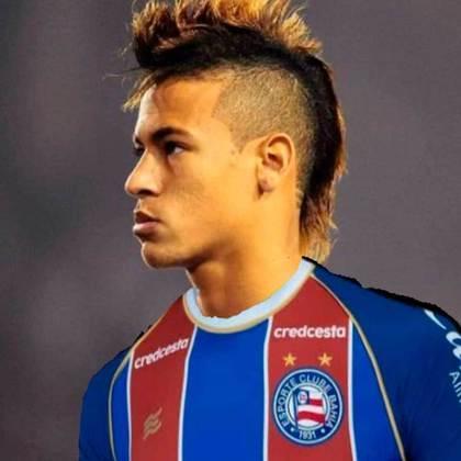 Neymar com a camisa do Bahia
