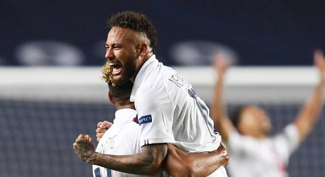 A emoção de Neymar. Virada empolgante, inesquecível contra o Atalanta