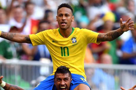 Neymar está entre os artilheiros do Brasil em Copas