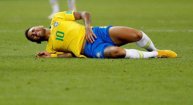 Neymar foi quarto lugar e caiu nas quartas de final nas Copas do Mundo que disputou
