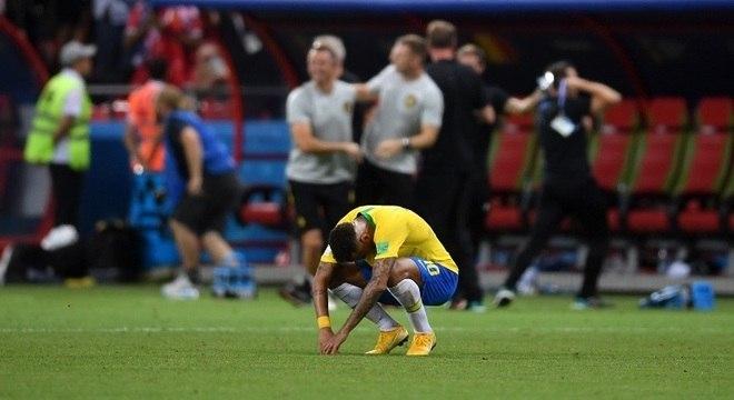 Neymar deixa a Copa de 2018 com dois gols e uma eliminação nas quartas de final