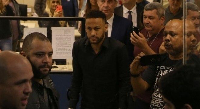 Neymar pretou depoimento no Rio de Janeiro na última semana