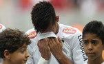 Neymar, despedida Santos 2013,