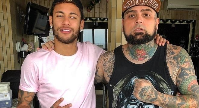 Adão Rosa fez uma tatuagem em Neymar e a vida mudou completamente